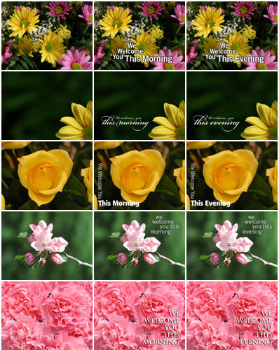 Christian Backgrounds - Mothers Day Worship Photos